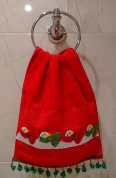 Christmas Sewing Projects, Christmas Crafts, Navidad Ideas, Cool Kitchens, Margarita, Decoration, Towel, Applique, Cool Stuff