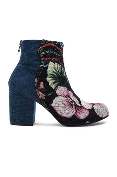 dd5efb16cd99 Rachel Comey Tilden Booties in Denim   Brocade