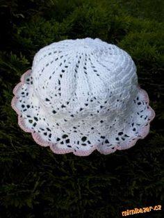 HÁČKOVÁNÍ - Letní klobouk + čepička