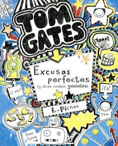 """I-N-HU PIC tom(2) / verde. A serie"""" TOM GATES"""" ten sido galardoada co premio Roald Dahl 2011 ao libro máis divertido e co Rede House Children' s Book Award 2012. """""""