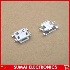 Free shipping Tablet PC USB charging ports MICRO 5P USB connector jack 200pcs/lot