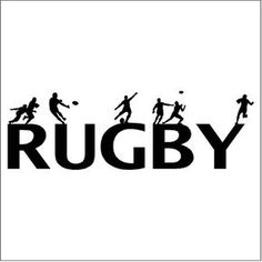 Rugby Wall Decal Removable Rugby Wall Sticker Lettering Boy's Rugby Logo, Wall Sticker, Wall Decals, Rugby Quotes, Rugby Pictures, Rugby Girls, Cycling Art, Cycling Quotes, Cycling Jerseys