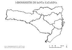 mesorregião santa catarina - Pesquisa Google
