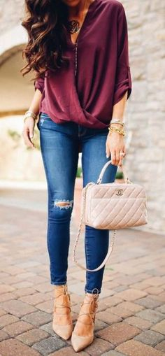 This date night outfit is one of the best cute outfits! 60 Lovely Looks To Rock This Season – This date night outfit is one of the best cute outfits! Image Fashion, Trend Fashion, Fashion Mode, Fashion Night, Look Fashion, Autumn Fashion, Fashion Outfits, Womens Fashion, Fashion Edgy