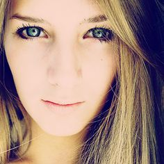 Selfie.  #girl #me #woman #eyes #cute #hair #blonde