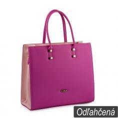 Kabelka Loki Tote LK00103 fuchsia-pink e2ab13361a1