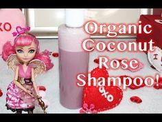 Coconut rose shampoo