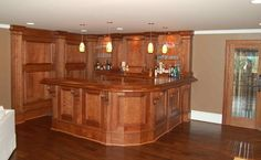 Image result for how to build a basement bar