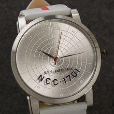 Boldy Go On Time With This Star Trek NCC-1701 Watch