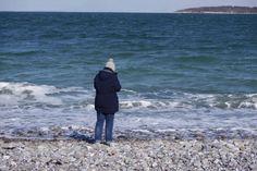 Woman at the Beach, Denmark