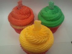 SOUR PATCH CUPCAKES - Yummy Vanilla Cupcake, Strawberry or Raspberry Jam Center, topped with our Sour Patch Sweet and Sour Buttercream sprinkled with our Citric Sugar and Sour Patch Kids Candy Garnish - $27.00 / one dozen