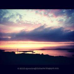 Sunset. Donegal, Ireland.