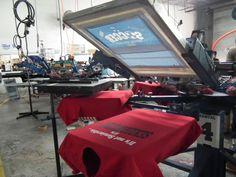 #screenprinting #presses #tshirts