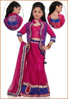 Rani #Pink #LehengaCholi with Dupatta @ $102.00