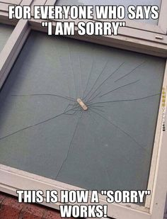 How sorry works
