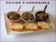 Caviar d'aubergines (thermomix)