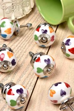 Online ceramic knobs, Ideal for drawers, cabinets, wardrobes, and doors. For more unique collection visit to our website. Kitchen Knobs And Pulls, Glass Door Knobs, Backyard Lighting, Decorative Knobs, Ceramic Knobs, Furniture Hardware, Cabinet Knobs, Heart Print, Wardrobes