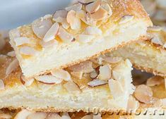 Миндальные полоски Butter, I Foods, Vanilla Cake, Camembert Cheese, Sandwiches, Cheesecake, Food And Drink, Cookies, Desserts