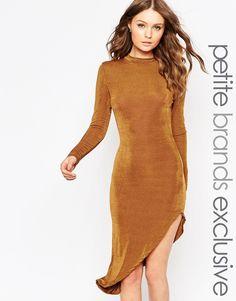 True Decadence Petite Asymetric Bodycon Dress