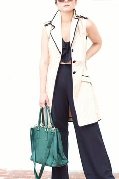 District Dress Up: Dressing Up: The Trench Vest
