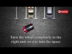 Parking by reversing into a space could be tricky. This is method The movie instructs you on where to steer t. Driving Basics, Safe Driving Tips, Driving Test, Driving Instructions, Parallel Parking, Reverse Parking, Teen Driver, Drive Me Crazy, Things To Know