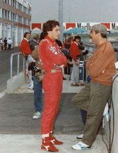 Fotos Ayrton Senna e Nigel Mansell Damon Hill, James Hunt, Michael Schumacher, Gp Do Brasil, Maserati, Lamborghini, Nigel Mansell, Ducati, Formula 1 Car