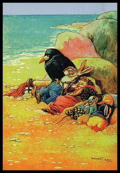 *** THE TREASURE SEEKERS 1917 ***    Ernest Aris (1882-1963)  Author & illustrator of children's books.