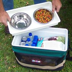 Dog Cooler ~ Dog Food and Water Storage | Shop Our Pets