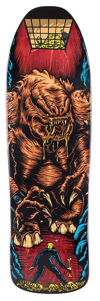Santa Cruz's Star Wars series Rancor Scene (Reissue) Skateboard Deck, Width 9.35""