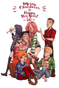 and happiest new year by Fukari on DeviantArt