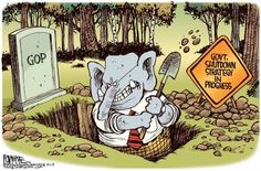 Why Are the Republicans Committing Suicide? Political Cartoons, Political News, Satire Humor, Cross My Fingers, Gold Today, Thoughts And Feelings, Tea Party, Liberty, Politics