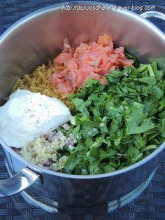 ONE POT PASTA SAUMON-EPINARDS... La meilleure recette one-pot pasta que nous avons essayé jusqu'à présent!