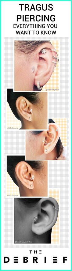 How is a tragus piercing done? How much does it cost? Does it hurt? What about the tragus aftercare? - Everything you need to know!
