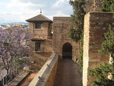 Málaga, Spain--Didn't make it to Malaga on my Andalusia trip several years ago. Will need to check it out at some point. Krak Des Chevaliers, Granada, Monuments, Places Around The World, Around The Worlds, Places To Travel, Places To Go, Travel Destinations, Madrid