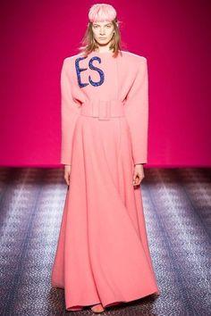 Schiaparelli 2014 Couture Sonbahar Koleksiyonu - Marco Zanini'nin Schiaparelli için tasarladığı ikinci couture koleksiyonunu;