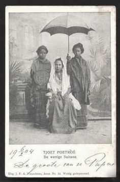 Tjoet Poetroe, Royalty Aceh, Sumatra