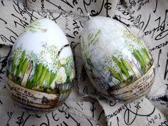 Świat Decoupage -  Mój magiczny Świat : kwiatowo ziołowe pisanki