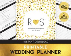 Wedding Planner Printables