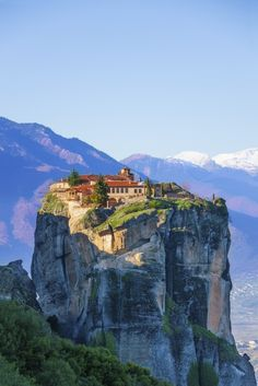 Escape to the Meteora monasteries in Greece