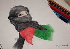 Palestinian girl 2 by LOVE--WING.deviantart.com on @DeviantArt