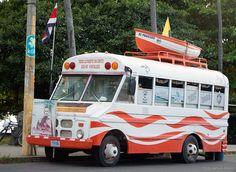 Bus Copero , Puntarenas, Costa Rica.