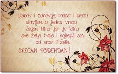 srećan rođendan Birthday Quotes, Birthday Wishes, Happy Birthday, Serbian Christmas, Best Merry Christmas Wishes, Learning Logo, Funny Outfits, Free Vector Art, Leaf Design
