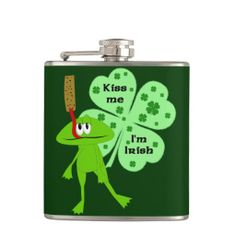 Funny St. Patrick's Day Frog Flask We provide you all shopping site and all informations in our go to store link. You will see low prices onShopping          	Funny St. Patrick's Day Frog Flask Here a great deal...