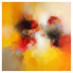 Eelco Maan, Summer dance II, 100 x 100 cm / Sold