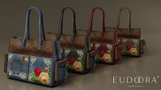 Eudora 3D Vintage Set Limited Edition Gamma Bags | Flickr - Photo Sharing!