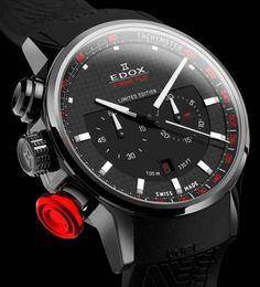 Edox WRC Xtreme Pilot Limited Edition Watch