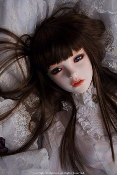 Overly realistically doll. Sometimes this doll scared me because it look so real~