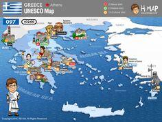 / Athos / of Apollo Epicurius at Bassae / Athens / Delphi / Rhodes / Thessalonika / Epidaurus / Mystras / / / / and Tiryns / Town of Corfu Samos, Corfu, Crete, Mycenae, Donia, Minoan, Acropolis, Thessaloniki, Albania