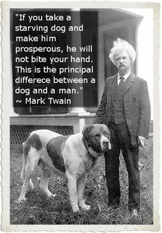 Funny pictures about Mark Twain makes a legit point. Oh, and cool pics about Mark Twain makes a legit point. Also, Mark Twain makes a legit point. Love My Dog, I Like Dogs, Puppy Love, Animals And Pets, Cute Animals, Funny Animals, Mastiff, Pet Sitter, Mark Twain Quotes