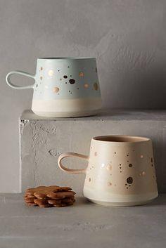 Gold-Flecked Mug @ Anthropologie
